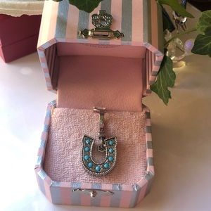 Juicy Couture Ailver tone Horseshoe